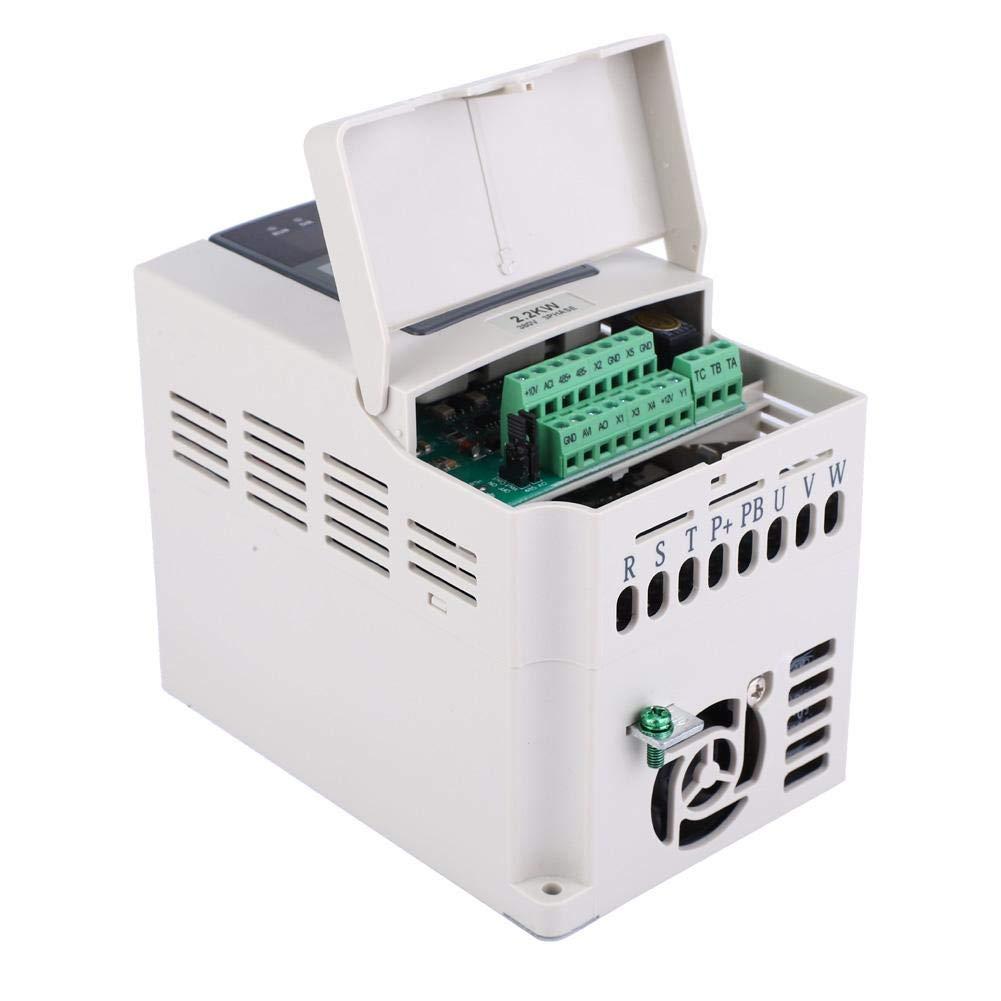 3-phasigem Eingang und Ausgang 2.2KW zur Steuerung der Motordrehzahl Frequenzumrichter mit 380 V VFD-Wechselrichter