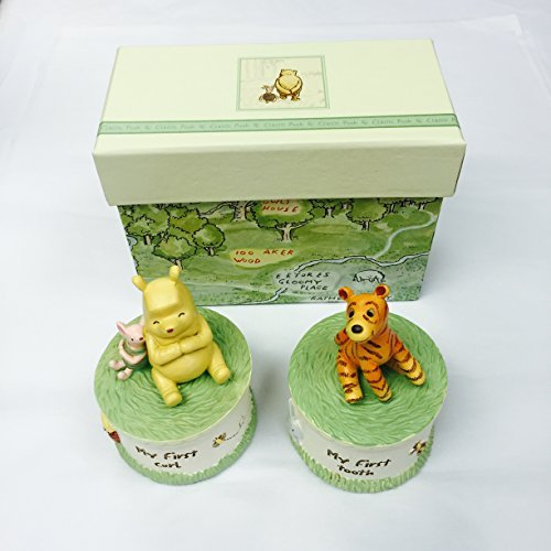 Disney Classic Winnie the Pooh Heritage - First Tooth First Curl Set with Box by Winnie the Pooh