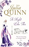 Front cover for the book A Night Like This by Julia Quinn
