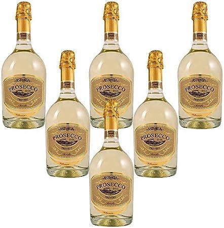Butterfly Prosecco Treviso millesimato extra dry Vino Espumoso Italiano (6 botellas 75 cl.)