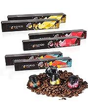 60 Invigo Coffee Capsules | VARIETY PACK | Nespresso Original Line Compatible Pods | 100% Ground Espresso Coffee (Vanilla, Classic, Boost)