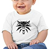 Baby Wolf Medallion Vector - Witcher 3 Cute Shirt O-Neck