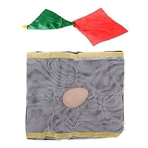 Prettyia 23.5 X 23.5 cm Silk Magic Scarf Stage Magic Trick Props&Fun,&Toys