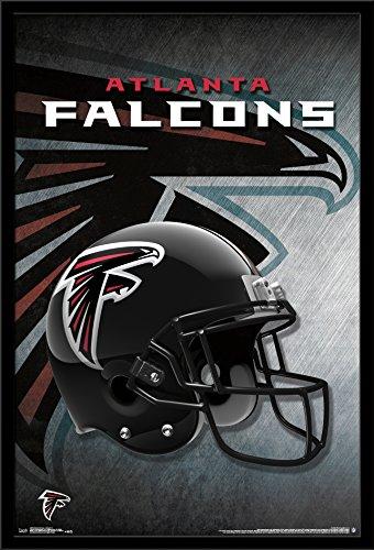 Atlanta Falcons Helmet Wall - Trends International Wall Poster Atlanta Falcons Helmet, 22.375 x 34