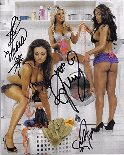 melina-ashley-maria-wwe-divas-laundry-signed-autograph-8x10-photo-autographed-wrestling-photos