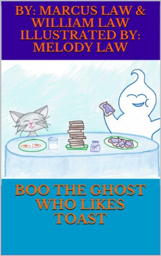 Boo the Ghost Who Likes Toast (Funny Halloween Toasts)