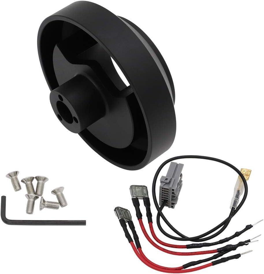 FLYPIG Steering Wheel Short Hub Adapter Fit For Nissan 350Z 370Z G35 G37 SER SRK-141H