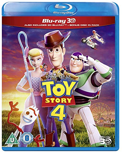 Toy Story 4 [Blu-ray + 3D] [2019] [Region Free]