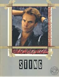 Sting 1985 Blue Turtles Tour Concert Program Programme Book