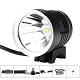 Cheap MOKFIRE Bike Light Rechargeable Easy to Install Front Cree LED 1200 Lumen Waterproof Bicycle Headlights Accessories