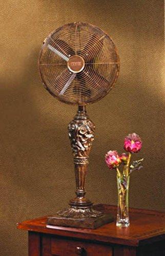 DecoBREEZE Oscillating Table Fan 3 Speed Air Circulator Fan, 12 In, ()