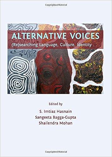 Alternative Voices: (Re)searching Language, Culture ...