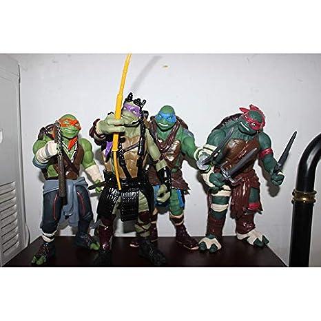 FFLSDR Tortuga Ninja Mano Anime a Mano Modelo/Recuerdo ...