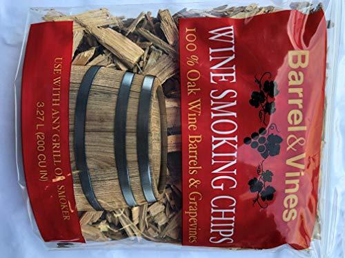 (Barrel & Vines Wine Smoking Chips from California Vineyards)