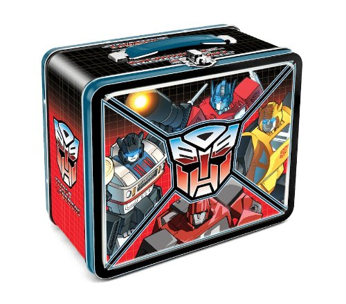 Boxes 80s Lunch (Aquarius Transformers Autobot Large Tin Fun Box)