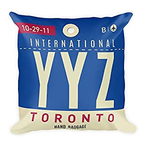 YYZ - Airport Code Pillow