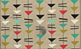 Atomic I Spy Retro Mid Century Modern Mobiles Fabric By the Fat Quarter Build Your Custom Order