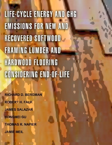 Life-Cycle Energy and GHG Emissions for New and Recovered Softwood Framing Lumber and Hardwood Flooring Considering End-of-Life - Hardwood Flooring Lumber