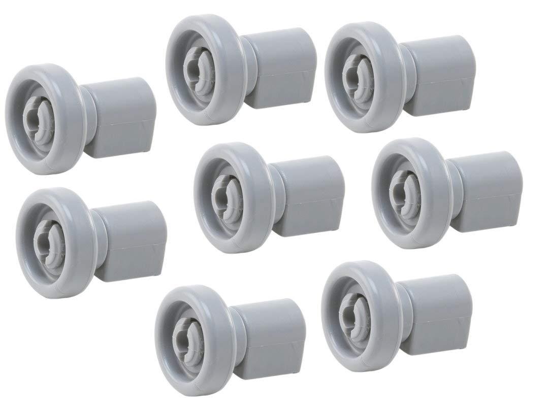 8x Korbrolle Oberkorb oben AEG Favorit Privileg Spülmaschine 5028696700-0