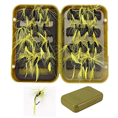 FidgetFidget Dry Wet Bass Fly Fishing Lures Nymph Woolly Bugger Streamer Emerger Caddis Trout