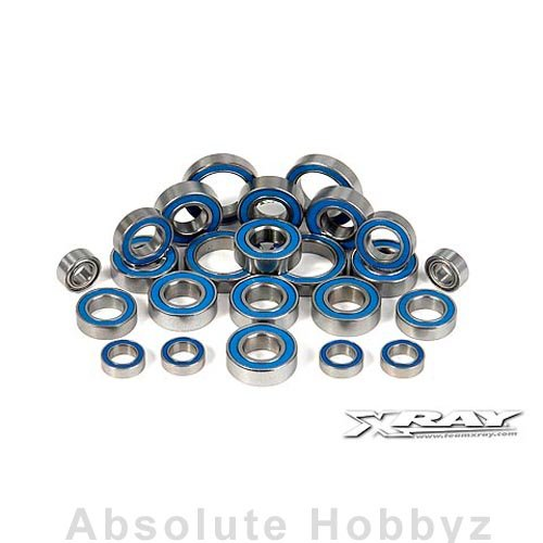 (XRAY Ball-Bearing Set - Rubber Covered For XB9 (24))