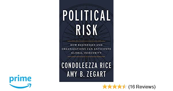 Amazon com: Political Risk: How Businesses and Organizations Can