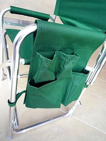 /év/énements sportifs MP Essentials Chaise robuste et portable dot/ée de poches et d/'une table id/éale pour entra/îneurs