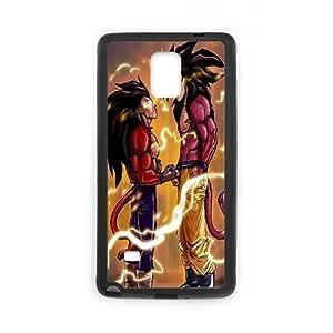 Super Saiyan Kaktana Samsung Galaxy Note 4 casos Super Saiyan 4 Goku y Vegeta, Super Saiyan [negro]