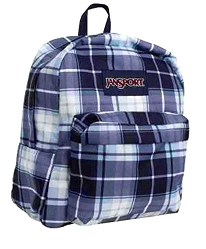 Jansport Superbreak Backpack Blue Haze Austin Pla (Jansport Backpacks Sling)