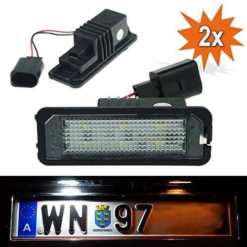 1 opinioni per DoLED, luci targa di immatricolazione WPX LED con marchio di controllo E