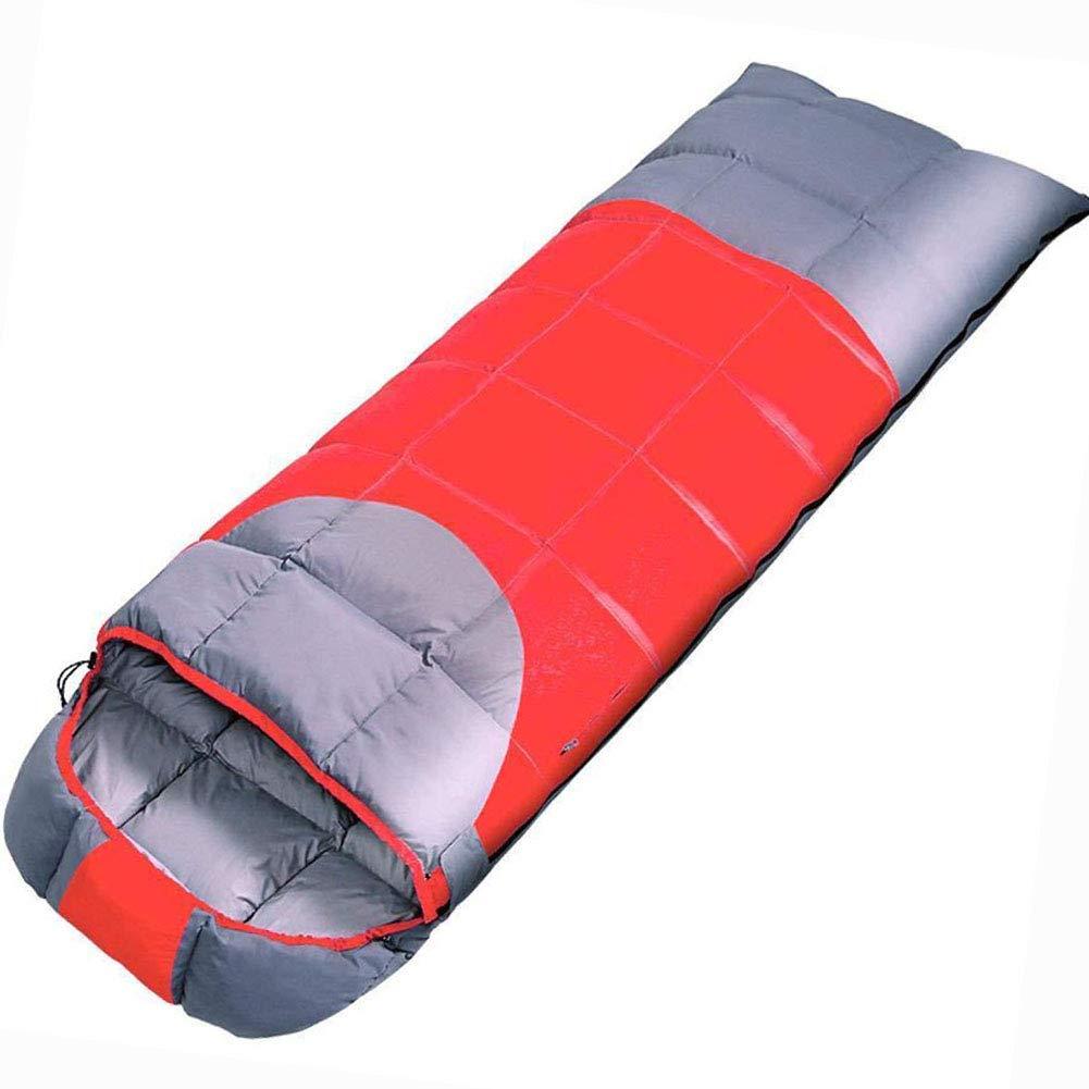 LL Einzel Schlafsack Erwachsene Im Freien Herbst Winter Können Ultraleichte Warm-Down-Schlafsäcke Genäht Werden