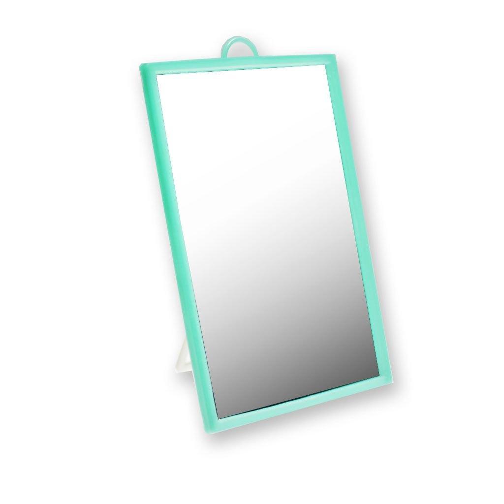 830 gr Cose di Donna Specchio Bagno da Tavolo Retinato con Gamba di Appoggio