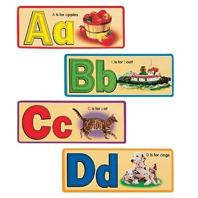 T.S. Shure Alphabet Flash Cards: Toys & Games