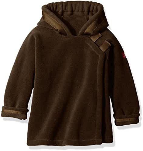 Widgeon Baby Girls' Polartec Fleece Warm Plus Hooded Wrap Jacket with Velcro Close