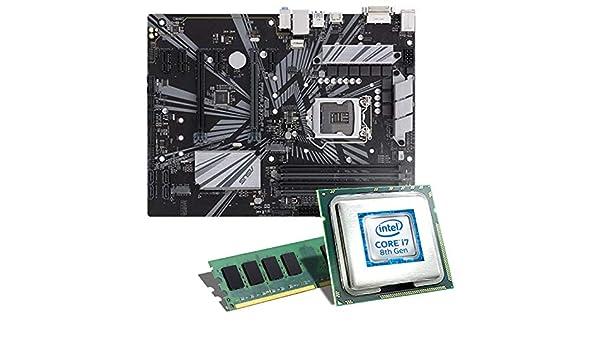 Intel Core i7 - 8700/placa base MSI Z370 a Pro Bundle/8 GB, CSL-Computer Intel Core i7 - 8700 6 x 3200 MHz, 8 GB DDR4 de RAM, Intel UHD Graphics 630, ...