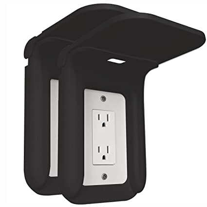 Wall Outlet Shelf Power Perch Charging Station Bathroom Wall Outlet Mount Holder Shelf Socket Bracket Charger Stand For Iphone Cellphone Over Outlet