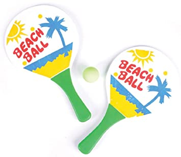 Bola de playa paddle conjunto RINCO: Amazon.es: Deportes y ...