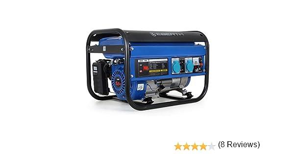 EBERTH 2200W Generador de corriente (Motor de gasolina de 4 ...