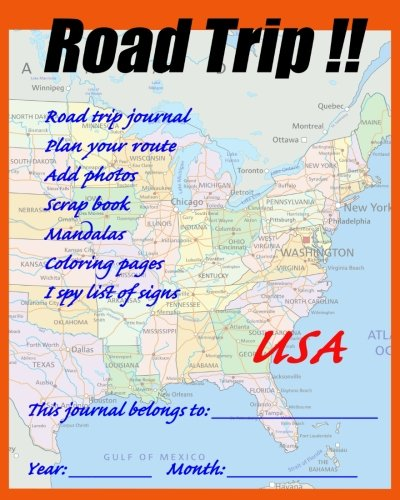 Trip Diary - Road Trip! USA (Road Trips for kids)