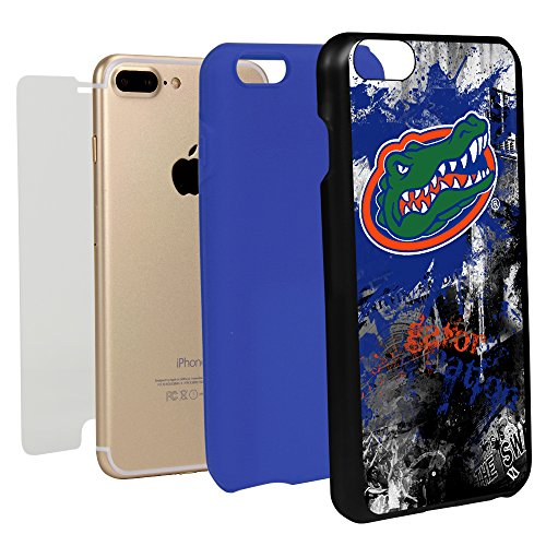 Guard Dog Paulson Designs Hybrid Phone Case for iPhone 7 Plus and iPhone 8 Plus (Florida Gators)