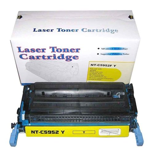 Unknown Remanufactured Toner Cartridge Replacement for HP Q5952A ( Yellow ) Photo #2