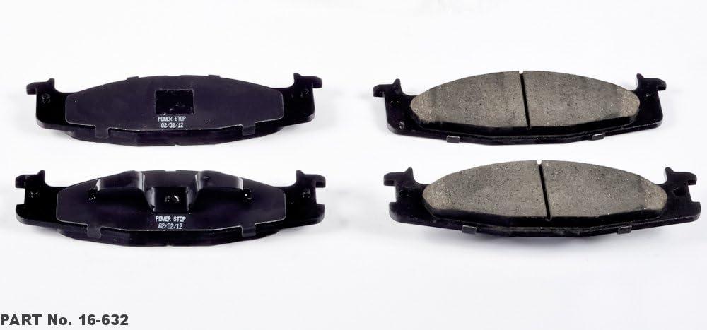 Power Stop 16-632 Z16 Evolution Front Ceramic Brake Pads