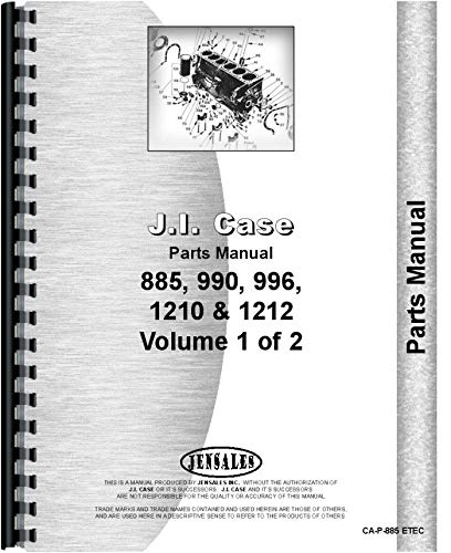 Download Case 995 Tractor Parts Manual (SN# 0-11070000) PDF