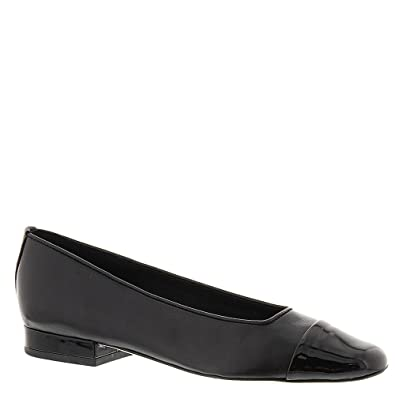 Van Eli Frankie Women's Slip On 7 C/D US Black-Black-Patent