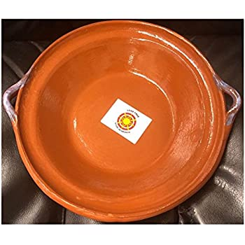 Made in Mexico Cazuela Tipo Plato Bowl Pozolero Soup Cereal 9.5