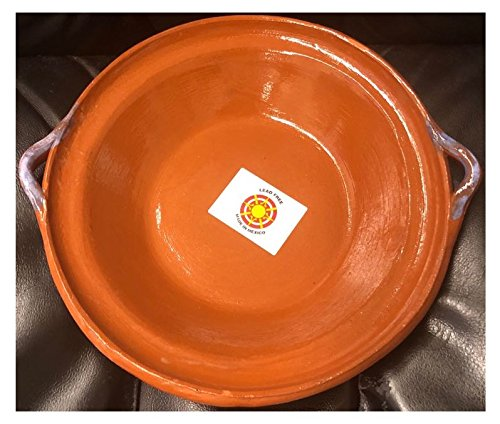 Made in Mexico Cazuela Tipo Plato Bowl Pozolero Soup Cereal 9.5
