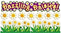 Teachers Friend 978-0-439-73170-6 3-D Daisies Bulletin Board