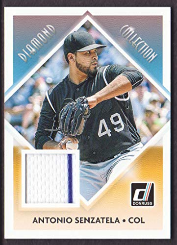 Dca Collections - 2018 Donruss Baseball Diamond Collection Memorabilia #DC-AS Antonio Senzatela Colorado Rockies