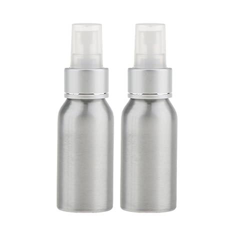 perfeclan 2 Piezas Viaje Botella Vacía de Niebla Envase de ...