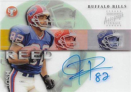 Autograph Warehouse 344833 Josh Reed Autographed Football Card - Buffalo Bills 2002 Topps Premiere Certified No. 82